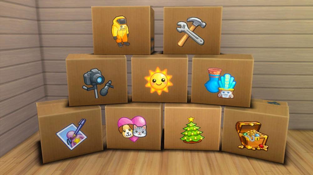 Storage box Sims 4