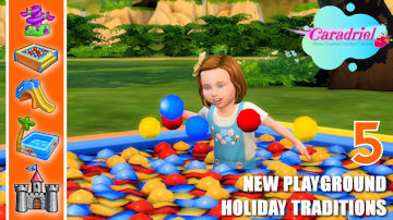 toddler holiday traditions sims 4