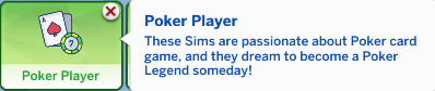 poker player trait sims 4
