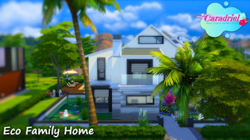 Eco Family Home Sims 4