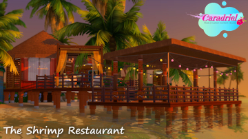 Shrimp Restaurant Sims 4