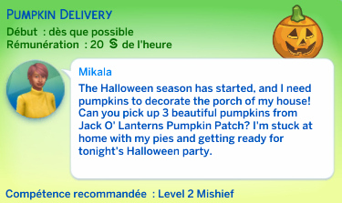 odd job pumkin patch sims 4