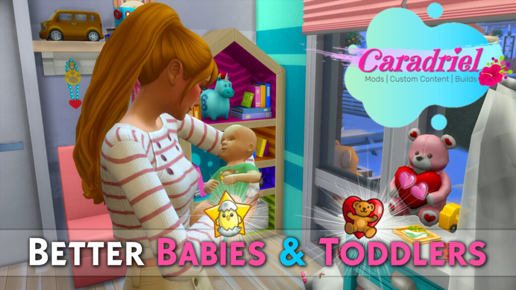 better babies & toddlers mod sims 4