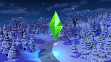 winter loading screen sims 4