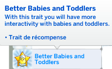 better babies trait sims 4