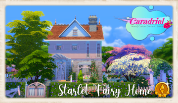 Starlet Fairy House sims 4