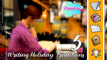 writing holiday tradition sims 4
