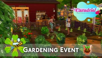Gardening Sims 4 mod