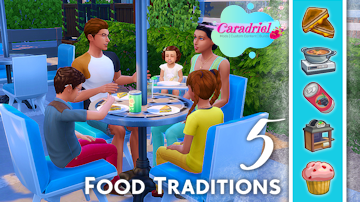 sims 4 food traditions